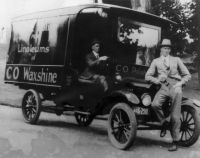 Historic CO Products delivery truck
